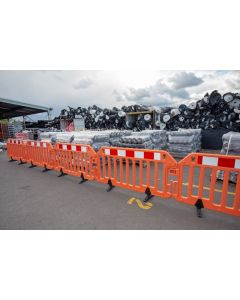 Pedestrian Barrier - NZTA Approved WorkZone Barricade